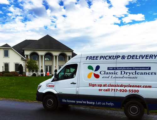 Home Office Pickup Delivery Classic Drycleaners