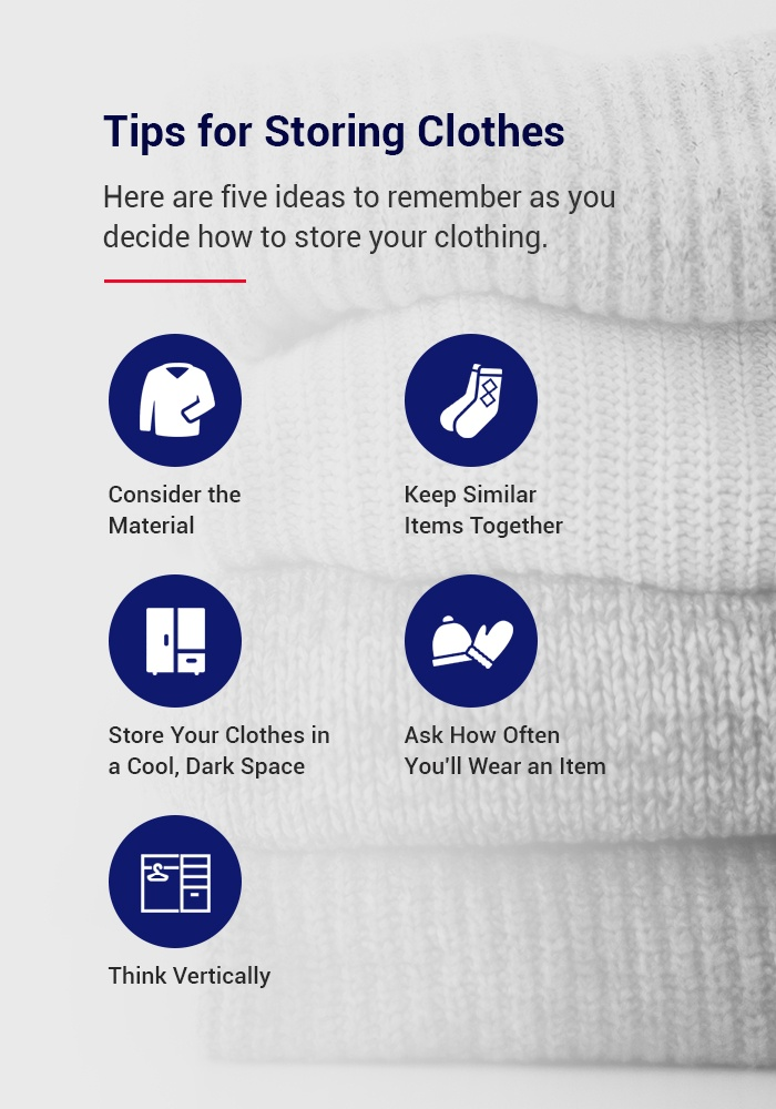 tips for storing clothes